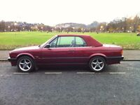 1992 BMW 318i CONVERTIBLE E30 CALYPSO RED, JUST HAD RE-TRIM DONE LAST WEEK!!