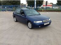 Rover 414 is 5door with 84900 miles and an mot until the 20th of September 2017