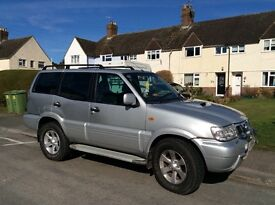 Nissan Terrano Diesel '54 plate 7 seat *REDUCED*