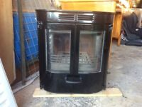 Charnwood SLX45 multi fuel inset fire for sale.