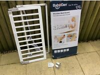 Baby Dan White Bed guard excellent condition