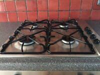 Double oven (electric) and gas hob