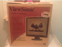 17 VIEW SONIC LCD COMPUTER MONITOR
