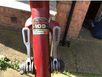 Retro PEUGEOT Racing Bike Frame n Fork, cool fixie or geared bike!