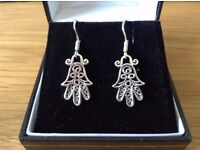 Hallmarked Sterling Silver Earrings for Pierced Ears BNWT Boxed *Mother's Day Gift*