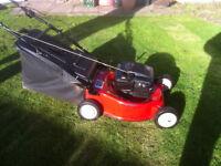 M T D Petrol lawn mower