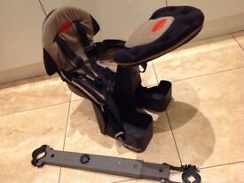 Weeride Deluxe Toddler Child baby seat for bicycle. Fits most adult bikes