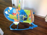 Fisher Price musical & vibrating baby chair.