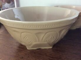 Three stone mixing bowls