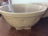 Three stone mixing bowls