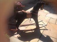 large rocking horse