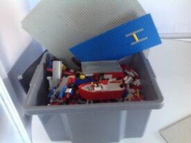 Huge Box of Lego Pieces