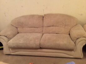 3 piece suite with footstool