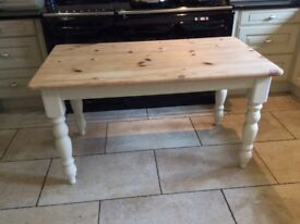 Beautiful Soid Pine Dining Table