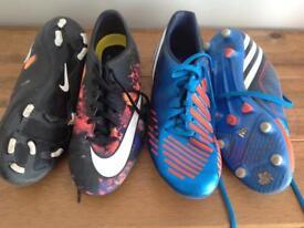 Ronaldo CR7 football boots plus Adidas size 5