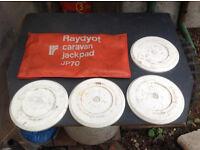 Raydyot Caravan Jack Pads x 4