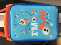 Olaf pack lunch from M&S in excellent condition