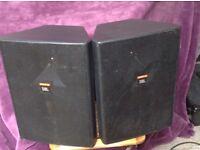 JBL Control 28 PA speakers