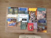 Selection of Art books about Monet, William Morris, Van Gogh, Turner and Picasso.