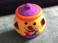 Cookie jar shape sorter