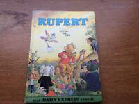 Rupert bear annual 1972 uncliped