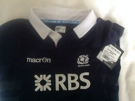 Kids age 3-4 Scotland Rugby kit