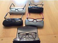 Ladies glass frames
