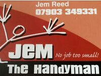 Jem the Handyman, based in Horam, covering all local areas