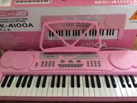 Acoustic solutions pink keyboard