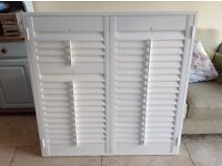 White plantation Shutters (single window)