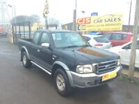 Ford ranger 2.5 turbo diesel double cab oneowner 60000 fsh full year mot fullyserviced wax oiled px