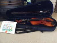 Violin 3/4 size for a child