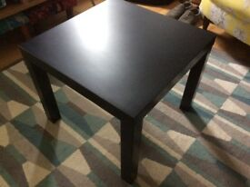 Table, black Ikea Lack Table. Side/coffee table.