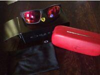 Oakley Ferrari Jupiter carbon fire sunglasses