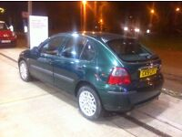 Rover 25 1.6 Hatchback Running but needs a new water pump. Low mileage Open to offers