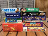 Selection of 20 board games - for a variety of ages
