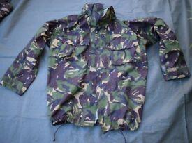 DPM Goretex Jacket - British Army Issue / Size Large