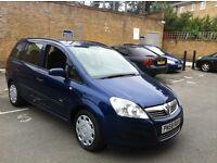 BARGAIN --- 2008 58 Vauxhall Zafira 1.6 i 16v Life 5dr FSH HPI CLEAR