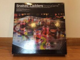Snakes and ladders drinking game