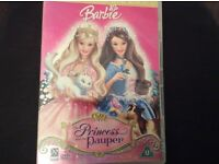 Barbie, the princess and the pauper DVD