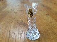 Webb Corbett Crystal Cut Glass Bud Vase