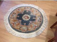 Chinese style circular rug