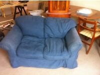 Two 2 seater sofas free to collector