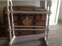 Old vintage towel rail