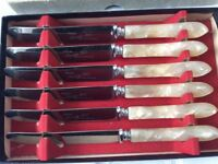 Boxed Set of 6 Butter Spreaders.