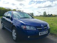 Trade in to clear 2003 Nissan Almera 1.5 Pulse cheap runabout
