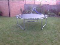 8 foot plum trampoline