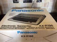 Panasonic KX R196 typewriter
