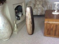 STUNNING LARGE HEAVY FLOOR VASE : STANDS 29ins HIGH : BARKER STONEHOUSE