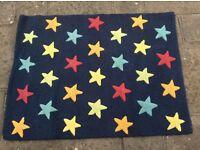 100% Wool Star Rug